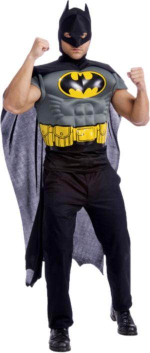 Adult Batman Muscle Chest Top Costume