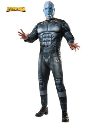Adult Deluxe Muscle Chest Electro Costume