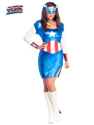 Sexy Adult Miss American Dream Costume