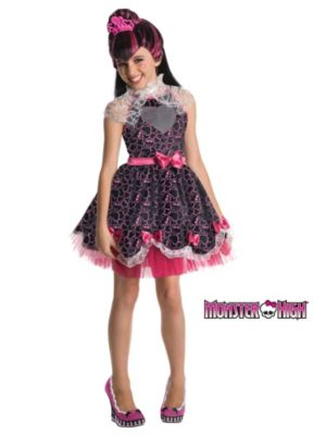 Child Draculaura Sweet 1600 Monster High Deluxe Costume