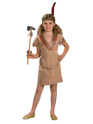 Toddler Girl Native American Costume Childs Native American Girl