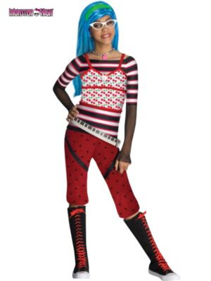 Child Small Monster High Ghoulia Yelps Costume