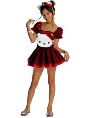 Child Sequin Hello Kitty Costume