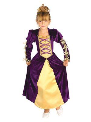 Kids Regal Queen Costume