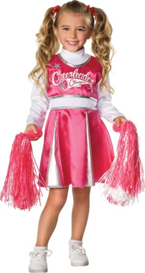 Child Cheerleader (pink/white)