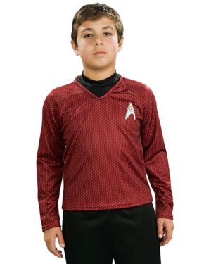 Child Star Trek II Deluxe Red Shirt