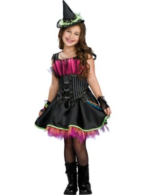 Childs Rockin Out Witch Costume