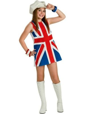 Childs British Invasion Costume
