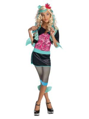 Girl's Monster High Laguna Blue Costume