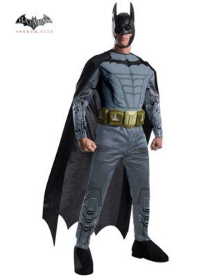 Adult Arkham Batman Muscle Chest Costume