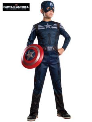 Child Captain America 2 Stealth Costume