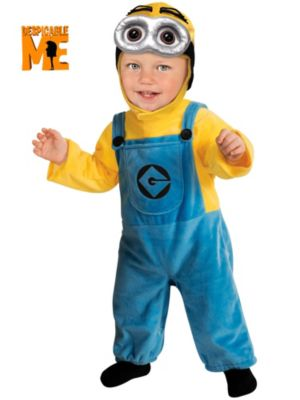 Toddler Boy's Minion Costume
