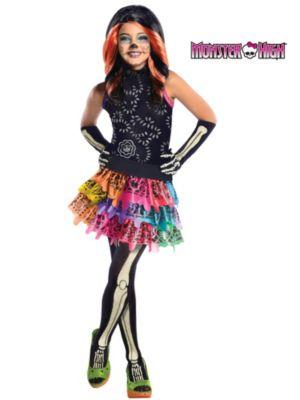 Child Skelita Calaveras Monster High Costume