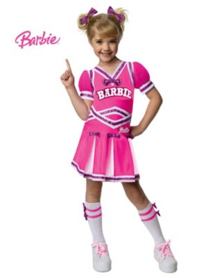 Child Barbie Cheerleader Costume