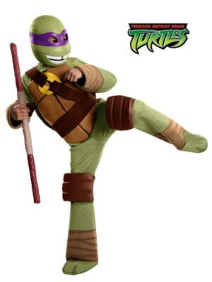 Child Teenage Mutant Ninja Turtles Deluxe Donatello Costume