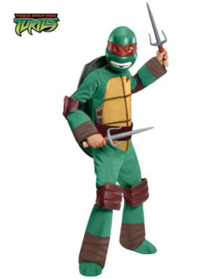 Child Teenage Mutant Ninja Turtles Deluxe Raphael Costume