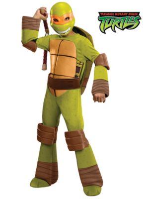 Child Deluxe Teenage Mutant Ninja Turtles Michelangelo Costume