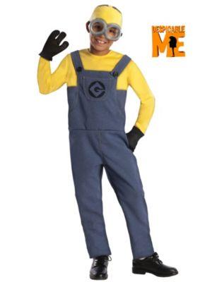 Despicable Me Child Minion Dave Costume