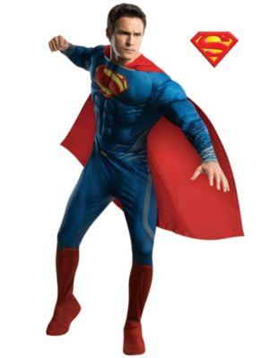 Adult Deluxe Superman Man of Steel Costume