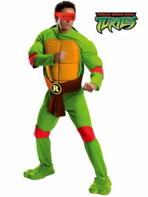 Adult Teenage Mutant Ninja Turtles Deluxe Raphael Costume