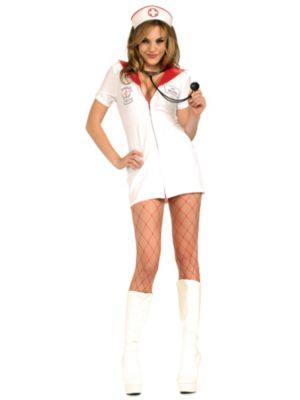 Sexy Adult Naughty Nurse Costume