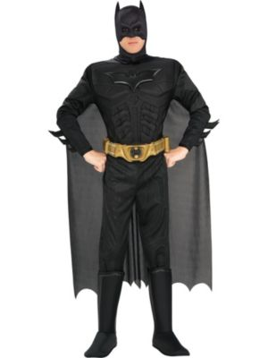 Deluxe Muscle Dark Knight Batman for Adult