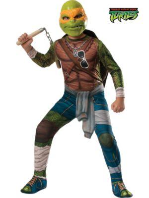 Boy's Michelangelo Teenage Mutant Ninja Turtle's Costume