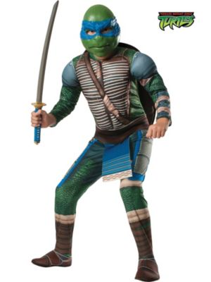 Child Mutant Ninja Turtles Deluxe Leonardo Costume