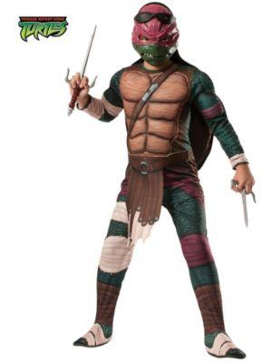 Child Mutant Ninja Turtles Deluxe Raphael Costume