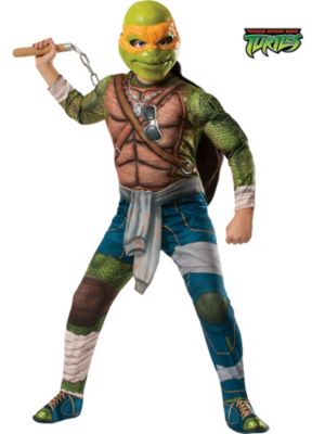 Child Mutant Ninja Turtles Deluxe Michelangelo Costume