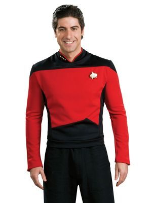 Deluxe Star Trek The Next Generation Adult Red Shirt