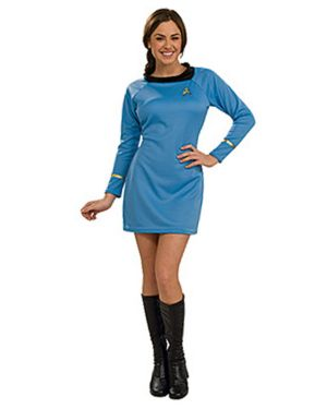 Classic Womens Star Trek Blue Dress
