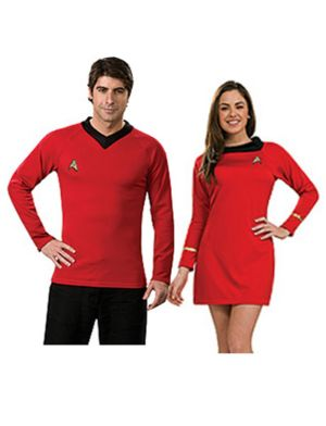 Classic Womens Star Trek Red Couple Costume