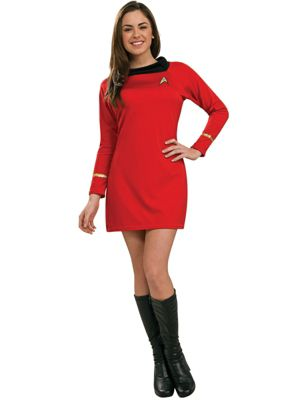 Classic Womens Star Trek Red Dress