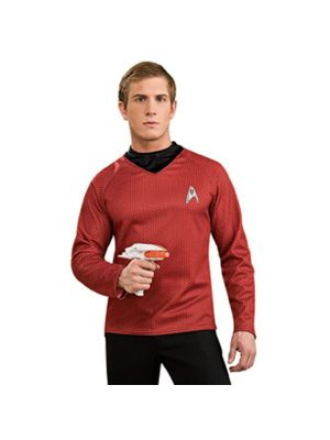 Adult Star Trek the Movie Deluxe Red Shirt