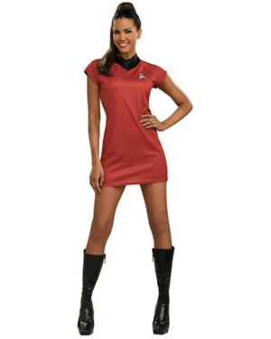 Sexy Deluxe Uhara Star Trek II Dress Costume