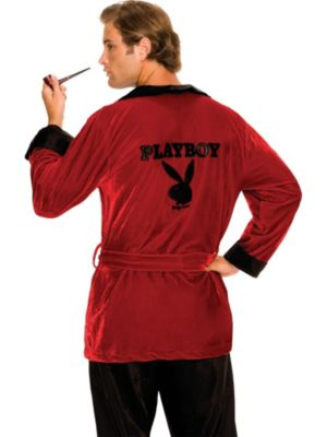 Playboy Smoking Jacket for Adults