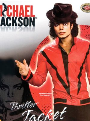 Mens Michael Jackson Red Thriller Jacket