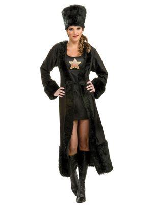 Adult Black Russian Womens Costume