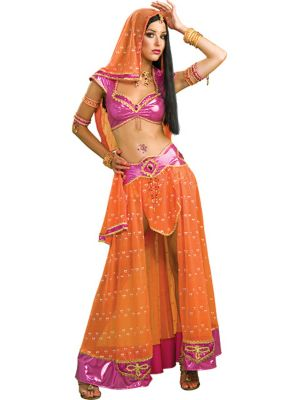 Sexy Bollywood Dancer Womens Costume