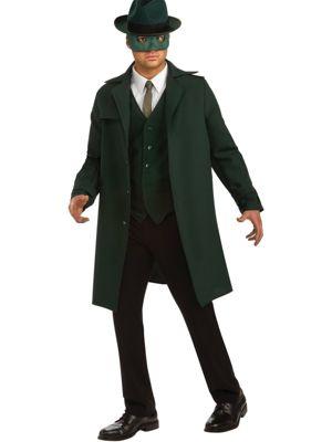 Adult Deluxe Green Hornet Costume