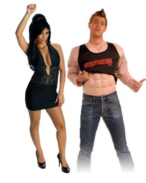 Snooki Black Dress Adult Costume