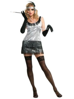 Sexy Adult Broadway Babe Costume