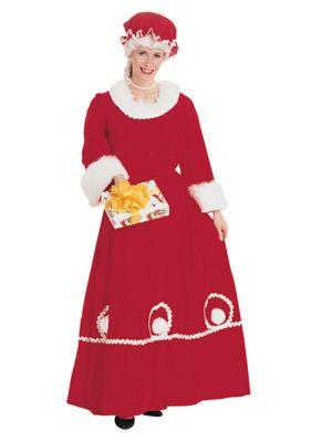 Adult Mrs. Santa Dress