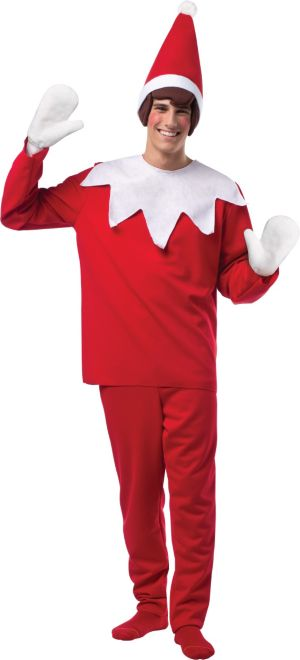 Adult The Elf on the Shelf Costume