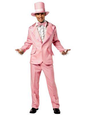 Adult Funky Pink Tuxedo Costume