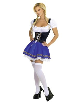 Adult Service Wench Costume