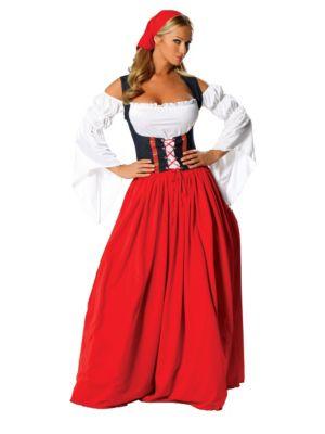 Adult Swiss Miss Sexy Costume