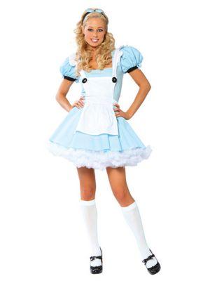 Sexy Alice In Wonderland Womens Costume