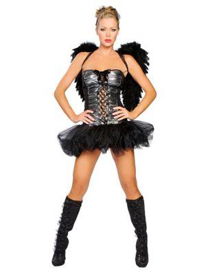 Naughty Dark Angel Sexy Adult Costume